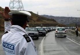 هیچ محوری بارانی نیست/ ترافیک نیمه سنگین در آزادراه کرج_تهران