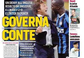 مرور صفحه نخست روزنامه های ورزشی امروز ایتالیا ؛ اینتر بوم!(تصاویر)