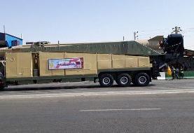 رژه تجهیزات هوا فضای سپاه/ نمایش ۱۸ موشک بالستیک