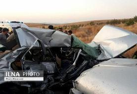 تصادف پژو و پراید ۳ کشته و ۴ مصدوم بر جا گذاشت