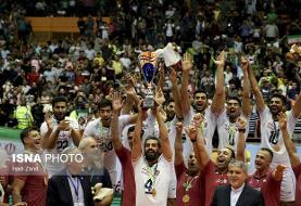 ایرانیها ۱۰ هزار نفری جشن قهرمانی گرفتند