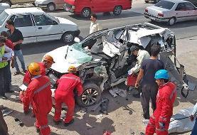 ۶ کشته و ۱۲ زخمی بر اثر تصادف در سیستان و بلوچستان