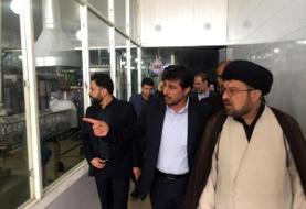 بازدید رئیس کل دادگستری استان فارس از واحدهای صنعتی مستقر در شهر زرقان