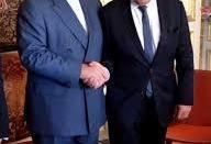 دیدار ظریف با وزیر خارجه فرانسه