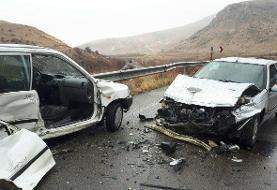 ۷ کشته و مصدوم بر اثر تصادف پژو و پراید