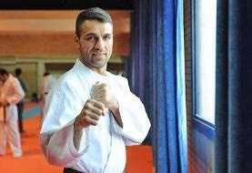 نقره کاراته وان شیلی بر گردن پورشیب