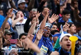 درگیری شدید هواداران استقلال و پرسپولیس و شعار علیه استراماچونی و فتحی+عکس