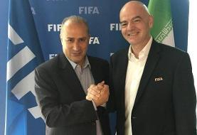 رییس فیفا: ایران برای حضور زنان در ورزشگاه ها اطمینان داده است