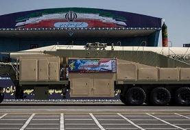 اولین حضور اس ۳۰۰ ایرانی در رژه نیروهای مسلح/۱۶ فروند موشک بالستیک سپاه نمایش داده شدند+عکس