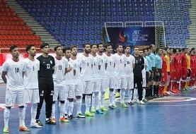 اعلام جدیدترین ردهبندی تیمهای ملی فوتسال جهان/ ایران همچنان سوم جهان و اول آسیا