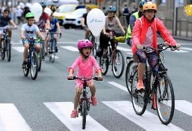 (تصاویر) روز جهانی بدون خودرو در نقاط مختلف جهان