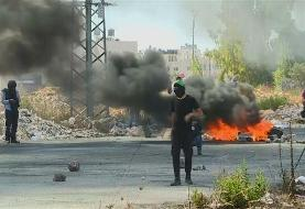 Palestinians protesters clash with Israeli forces in Ramallah