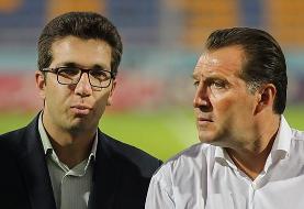 فدراسیون فوتبال قسط اول و دوم قرارداد ویلموتس را با هم پرداخت میکند