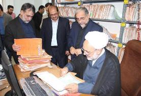 بازدید رئیس کل دادگستری استان مازندران از حوزههای قضایی آمل و دابودشت