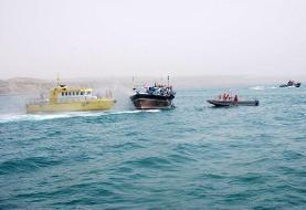 توقیف سه شناور حامل کالای قاچاق در خلیجفارس