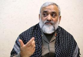 سردار محمدرضا نقدی: جاسوس اسرائیلی در دفتر من نبود