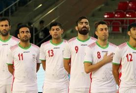 تساوی تکراری فوتسال ایران مقابل آذربایجان