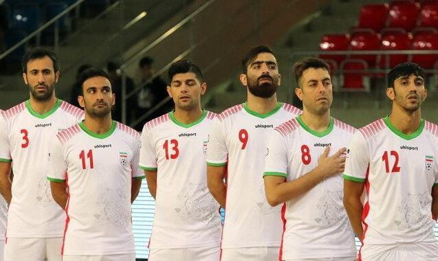 نایب قهرمانی عجیب ایران در تورنمنت فوتسال مشهد