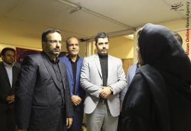 بازدید سرزده رئیس کل دادگستری استان البرز از دادگاه خانواده کرج