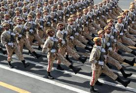 With military parade, Iran tells the US and other Western forces to leave the Persian Gulf