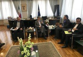 دیدار جابری انصاری با وزیر فرهنگ و ارشاد اسلامی