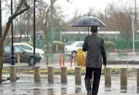 کاهش محسوس دما در شمال/باد و باران در کشور تا روزهای پایانی هفته