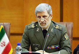 تقدیر وزیر دفاع از دولت و ارتش عراق برای برقراری امنیت راهپیمایی اربعین ...