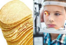 افراط در خوردن سیبزمینی سرخکرده و دیگر غذاهای ناسالم به کوری پسر نوجوان منجر شد