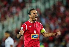 سیدجلال حسینی همچنان تسلیم مقابل تصمیم مربی