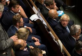 پارلمان بریتانیا پس از رای گیری در باره انتخابات زودرس تعلیق می شود