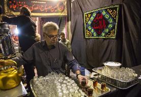 (تصاویر) عزاداری مردم تهران در تاسوعای حسینی
