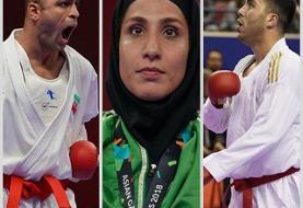 قهرمانی کاراته ایران در لیگ جهانی شیلی با ۵ مدال طلا