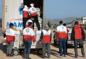 ارسال دو محموله موادغذایی از سمنان برای سیلزدگان سیستان و بلوچستان