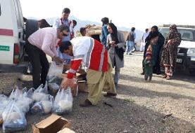 ۲۰ تُن مواد غذایی به سیستان و بلوچستان ارسال شد