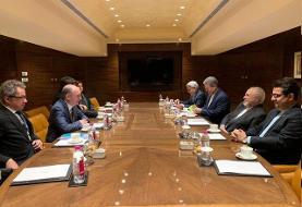 ظریف:اقدام اروپا در استفاده از مکانیزم حل و فصل اختلافات، اشتباهی راهبردی است