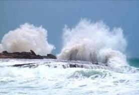 اطلاعیه هواشناسی درباره افزایش ارتفاع موج در آبهای کشور