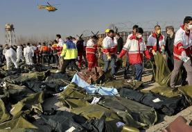 ۱۲۳ نفر از قربانیان سقوط هواپیمای اوکراینی شناسایی شدند+ اسامی