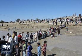 ویدئو / گلایههای مردم سیلزدۀ سیستان و بلوچستان