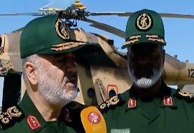 اقدامات سپاه در مناطق سیل زده سیستان و بلوچستان از زبان سردار سلامی