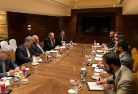 دیدار مشاور امنیت ملی افغانستان با ظریف در هند
