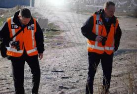 بازدید کارشناسان کانادایی از محل سقوط هواپیمای اکراینی