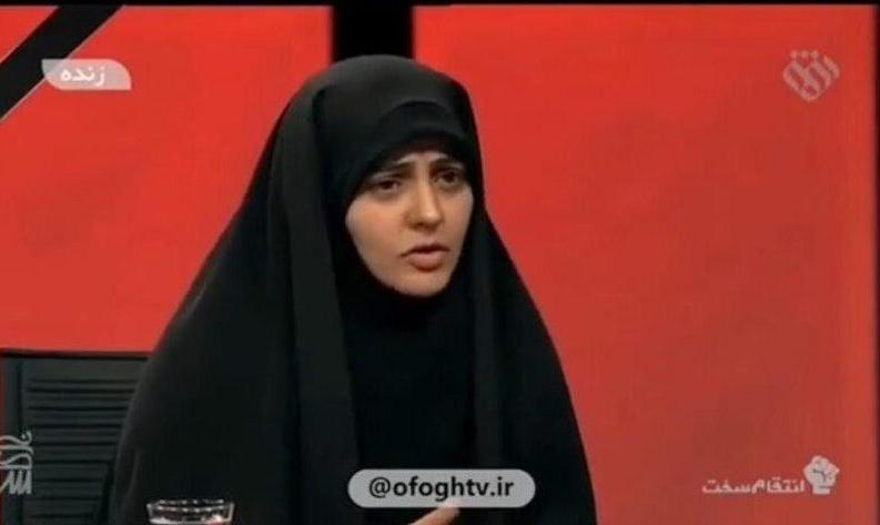 فیلم حرفهای مجری شبکه افق: هر کس از شرایط راضی نیست، جمع کند و از ایران برود! مشاور روحانی: صداوسیما به دنبال انتقام است