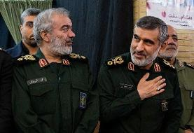 سردار حاجیزاده: مهمترین پایگاه آمریکا را با موشک زدیم ؛ هیچ غلطی هم نتوانستند بکنند