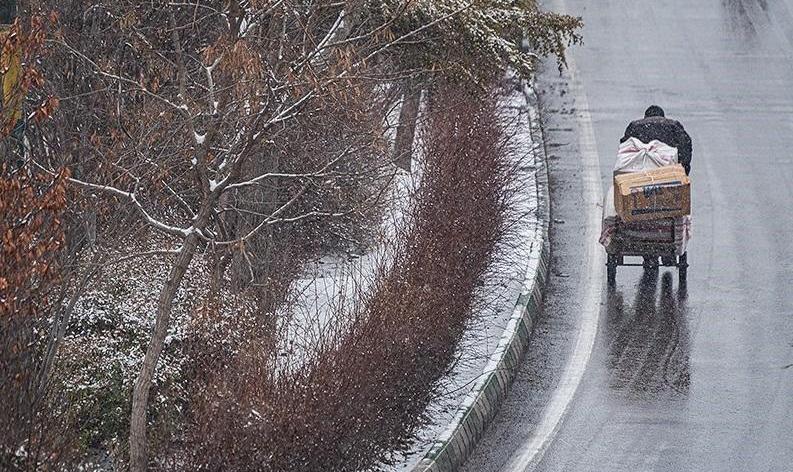 هواشناسی امروز سه شنبه ۲۴ دی ۹۸؛ بارش برف و باران ۳ روزه/ برف سنگین در ...