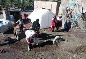 آخرین وضعیت امدادرسانی در مناطق سیل زده سیستان و بلوچستان