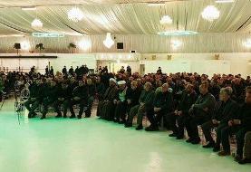 برگزاری مراسم بزرگداشت شهید سلیمانی در سفارت ایران در لاهه
