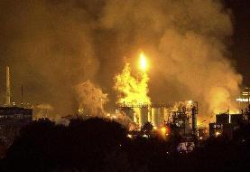 انفجار در یک کارخانه مواد شیمیاییِ اسپانیا