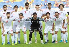 تركیب تیم فوتبال امید ایران در آستانه دیدار مقابل چین