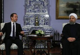 رویدادهای برتر در روابط روسیه و ایران در زمان نخست وزیری مدودف