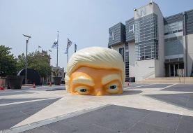 تصاویر | ورود به سر ترامپ امکانپذیر شد ؛ اینجا چه خبر است؟ | ماجرای شعلههای آتش در سر رئیس ...